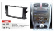 Carav 11-110 (2-DIN TOYOTA Auris 2006+, Corolla Levin 2007+; Corolla Conquest 2007+)